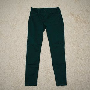 Maurice's Emerald Jeggings M-R